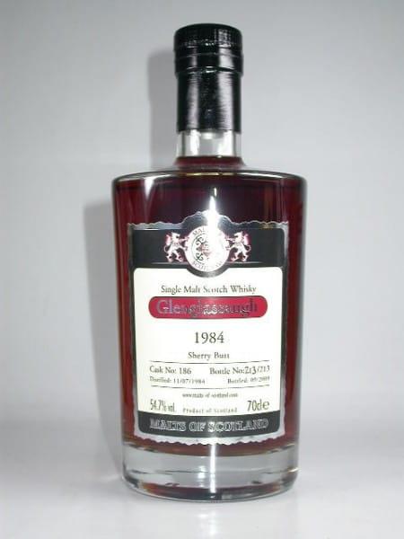 Glenglassaugh 1984/2009 Sherry Butt Malts of Scotland 54,7%vol. 0,7l