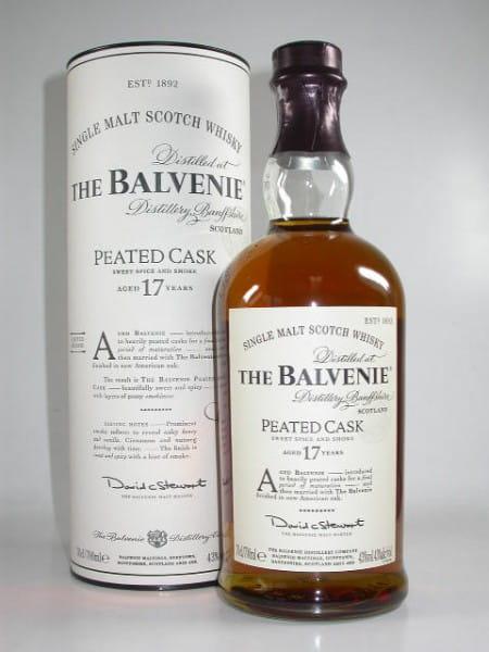 Balvenie 17 Jahre Peated Cask 43%vol. 0,7l