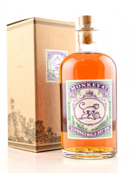 Monkey 47 Barrel Cut Schwarzwald Dry Gin 47%vol. 0,5l
