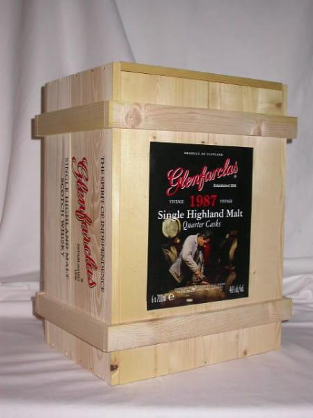 Glenfarclas Holzkiste 1987/2006 Quarter Cask