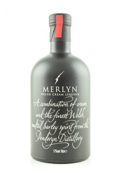 Merlyn Welsh Cream Liqueur (Penderyn) 17%vol. 0,7l