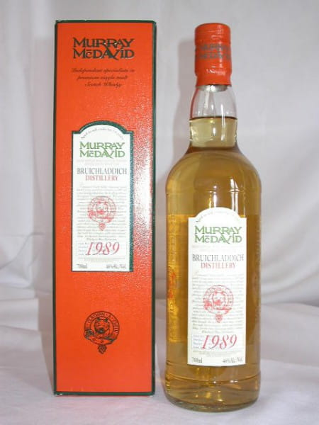 Bruichladdich 1989/2003 Bourbon Murray McDavid 46%vol. Sample 0,05l