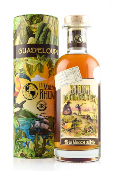 Rhum Guadeloupe - La Maison du Rhum Batch #3 42%vol. 0,7l