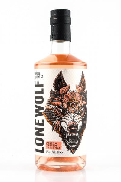 LoneWolf Peach & Passion Fruit Gin 40%vol. 0,7l