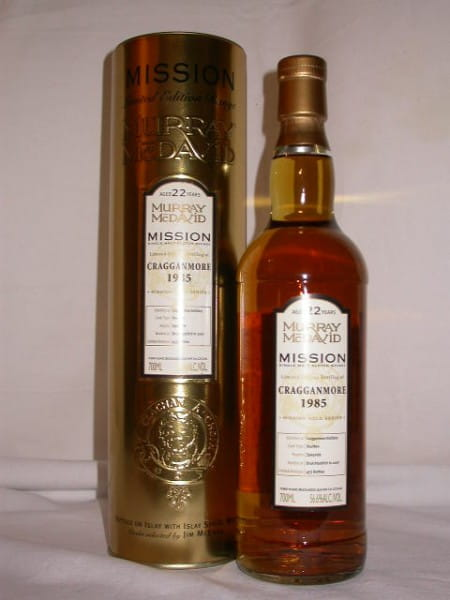 Cragganmore 1985/2007 Murray McDavid Gold Series 56,6%vol. 0,7l