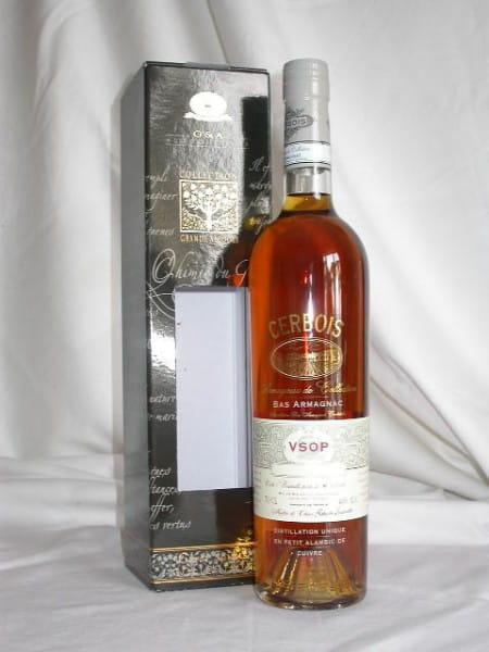 Cerbois VSOP Bas Armagnac 40%vol. 0,7l
