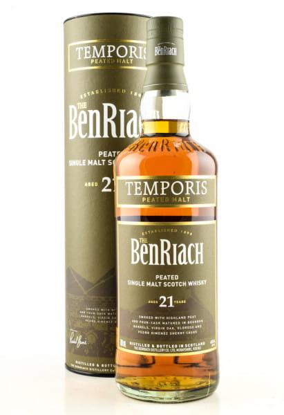 Benriach 21 Jahre Temporis 46%vol. 0,7l