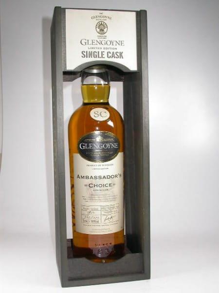 Glengoyne 18 Jahre 1990/2009 Ambassador's Choice Bourbon Single Hogshead 59,9%vol. 0,7l