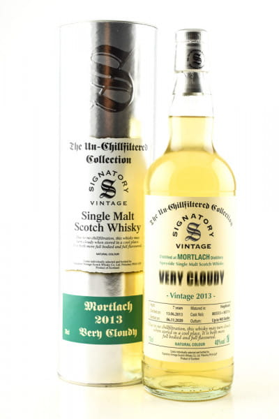 Mortlach 7 Jahre 2013/2020 very Cloudy Signatory 40%vol. 0,7l