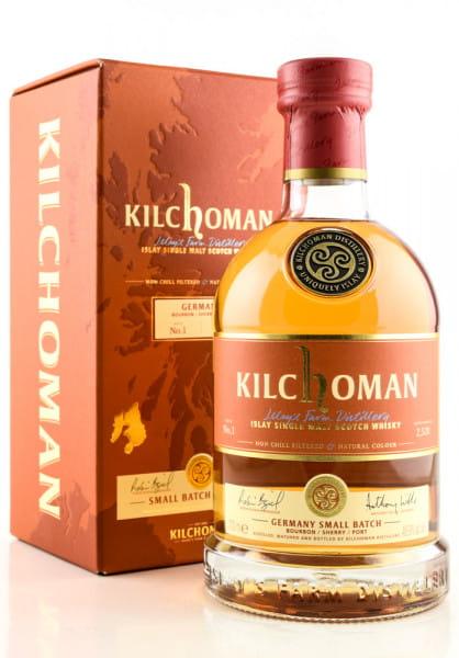 Kilchoman Germany Small Batch No. 1 Bourbon/Sherry/Port 48,9%vol. 0,7l