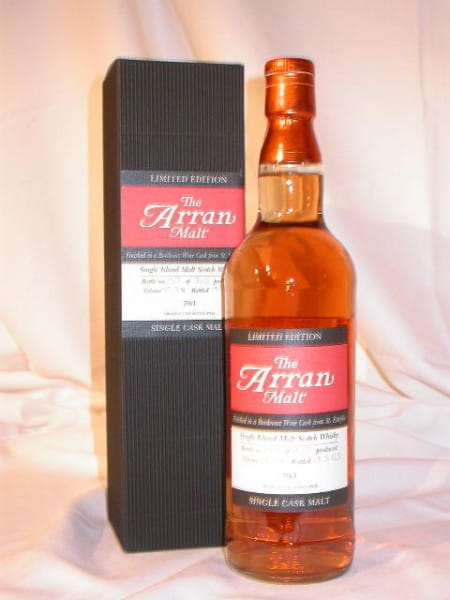 Arran Sherry/Bordeaux St. Estephe Single Cask Btl. 2005 59,7%vol