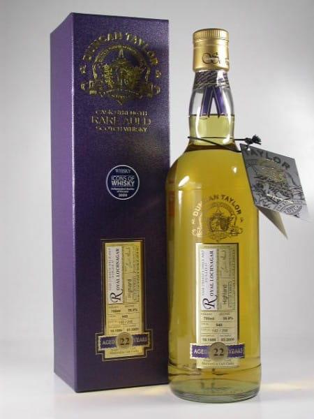 Royal Lochnagar 22 Jahre 1986/2009 Rare Auld Duncan Taylor 56,9%vol. 0,7l