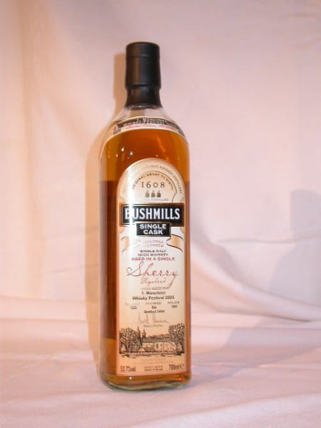 Bushmills Single Cask Sherry Hogshead 53,7%vol. 0,7l