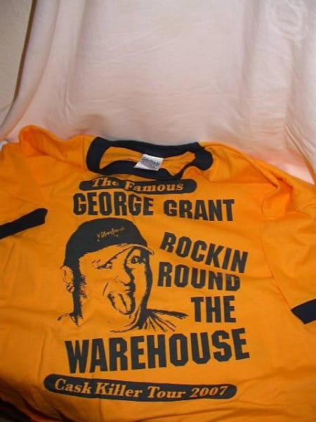 """Glenfarclas """"Cask Killer Tour 2007"""" T-Shirt Gr. S 100% Baumwolle"""