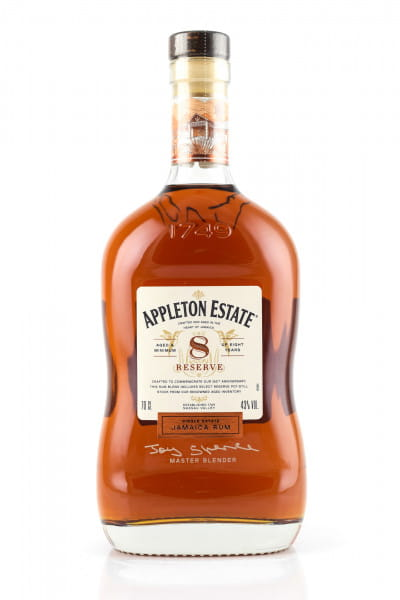 Appleton Estate 8 Jahre Reserve 43%vol. 0,7l