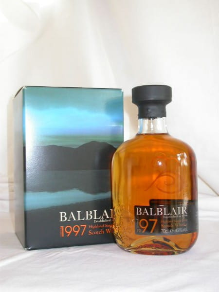 Balblair Vintage 1997/2007 43%vol. 0,7l