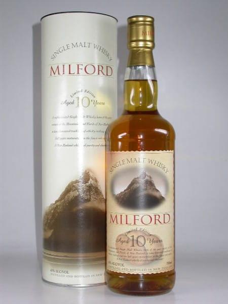 Milford 10 Jahre Neuseeland 43%vol. 0,7l