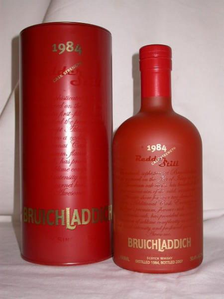 Bruichladdich Redder Still 1984/2007 Troncais 50,4%vol. 0,7l
