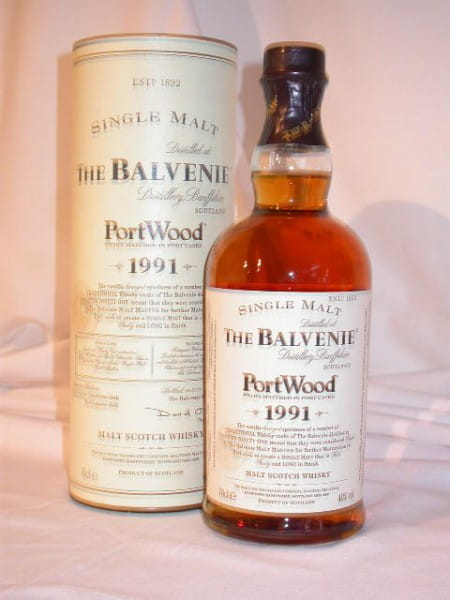 Balvenie 1991 Port Wood 40%vol. 0,7l
