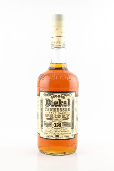 George Dickel No. 12 Tennessee Whisky 45%vol. 1,0l