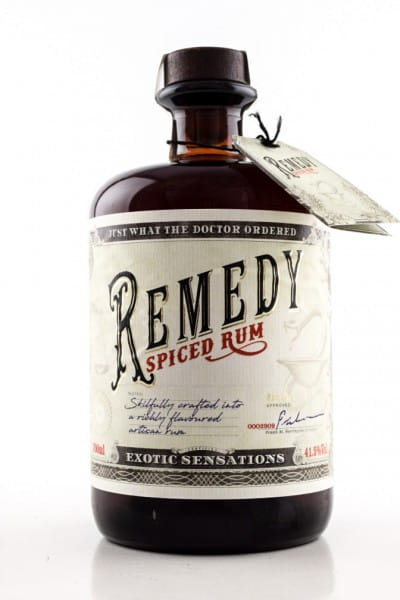 Remedy Spiced Rum 41,5%vol. 0,7l