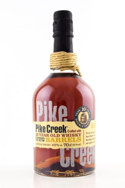 Pike Creek 10 Jahre 42%vol. 0,7l
