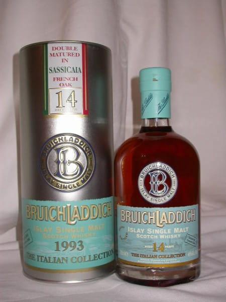 Bruichladdich Italian Coll. 1993 Sassicaia French Oak46%vol.0,7l