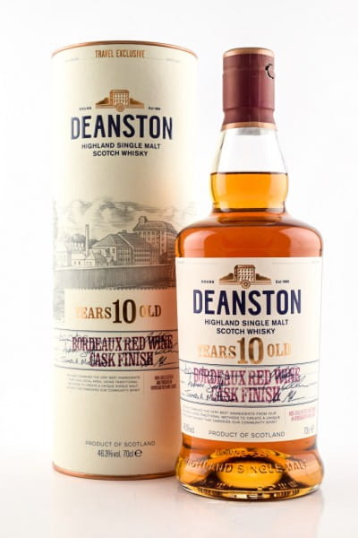 Deanston 10 Jahre Bordeaux Red Wine Cask Finish 46,3%vol. 0,7l