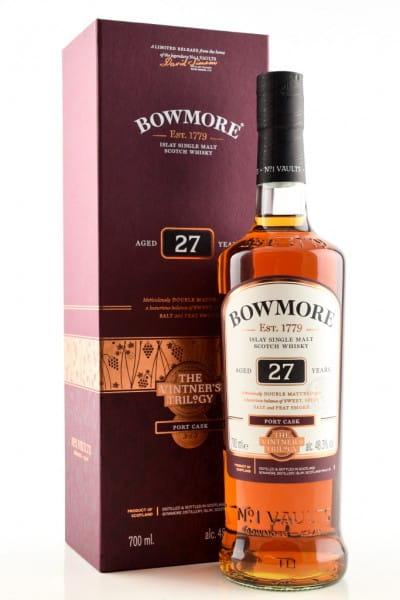 Bowmore 27 Jahre Port Cask The Vintner's Trilogy 48,3%vol. 0,7l