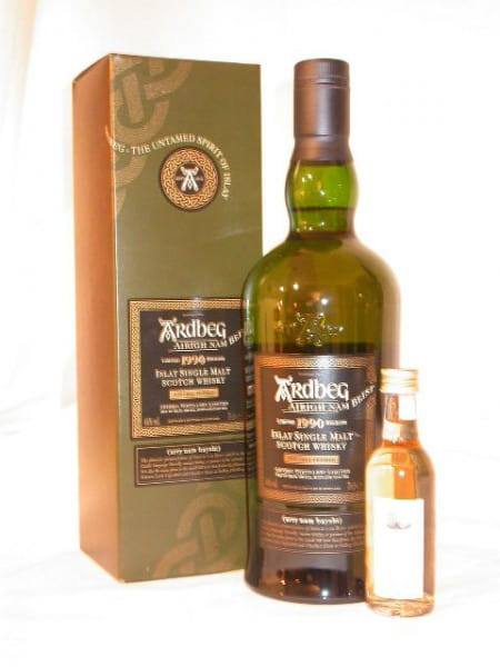 "Ardbeg 1990/2006 ""Airigh Nam Beist"" 46%vol. Sample 0,05l"