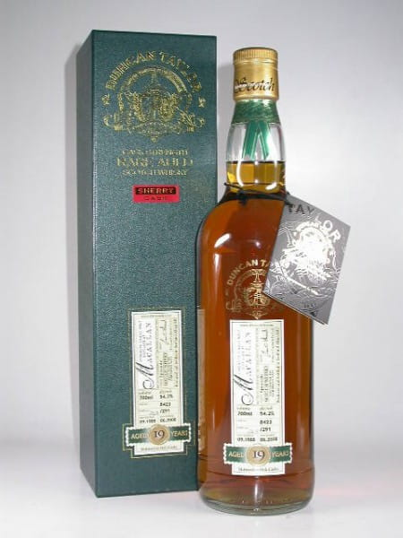 Macallan 19 Jahre 1988/2008 Rare Auld Duncan Taylor 54,2%vol. 0,7l