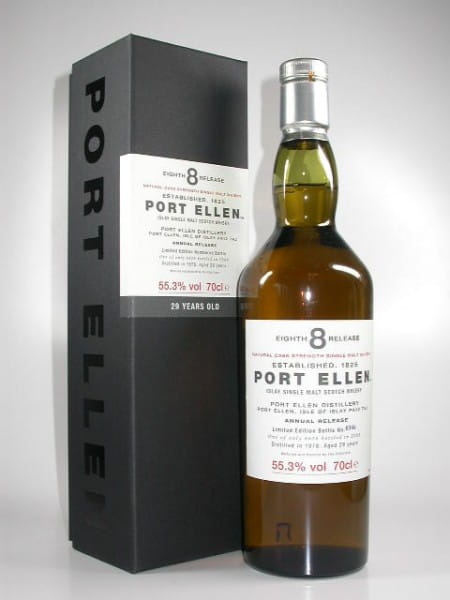 Port Ellen 29 Jahre 1978/2008 8th Release 55,3%vol. 0,7l