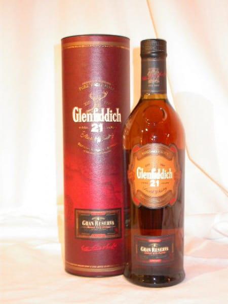Glenfiddich 21 Jahre Gran Reserva Cuban Rum Finish 40%vol. 0,7l