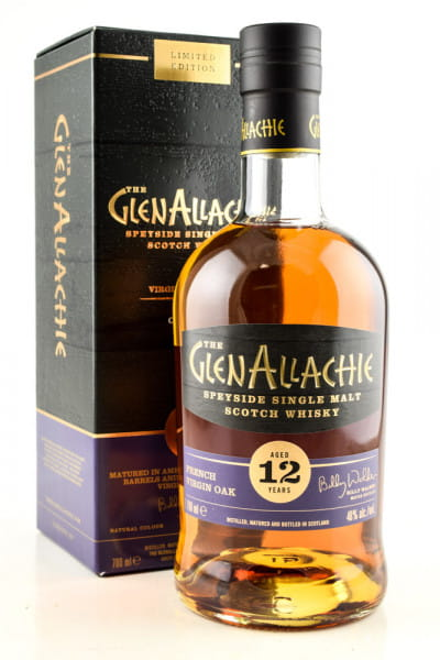GlenAllachie 12 Jahre French Oak Wood Finish 48%vol. 0,7l