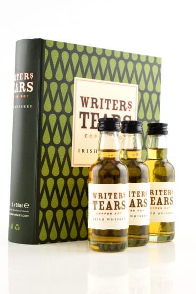 Writers Tears - Irish Pot Still Blend 40%vol. 3x 0,05l