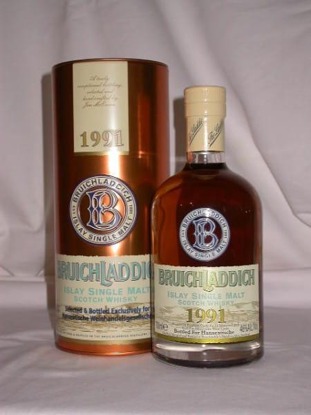 Bruichladdich 14 Jahre 91/05 Bourbon/Mourvedre Cask 46%vol. 0,7l