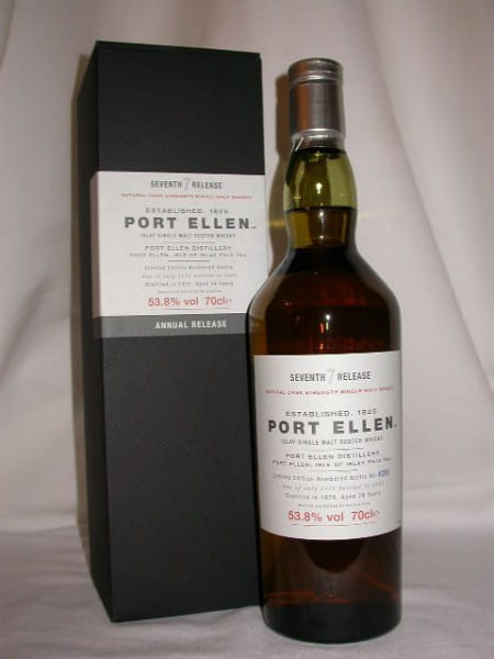Port Ellen 28 Jahre 1979/2007 7th Release 53,8%vol. 0,7l