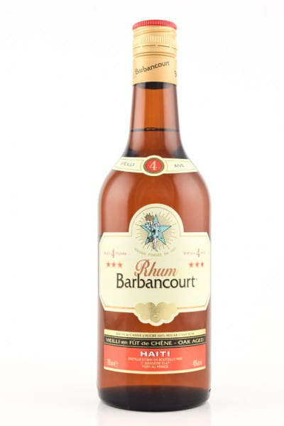 Barbancourt Rhum 4 Jahre 40%vol. 0,7l