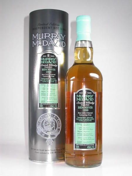 *Ben Nevis 1999/2007 Bourbon/Grenache Murray McDavid 46%vol. 0,7l