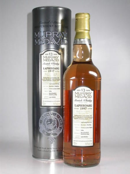 Laphroaig 1997/2010 Bourbon/Paulliac Murray McDavid 46%vol. 0,7l