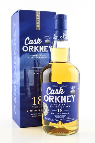 Cask Orkney 18 Jahre A.D. Rattray 46%vol. 0,7l