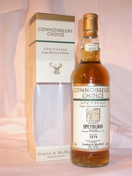 Speyburn 1974/2004 Gordon & MacPhail Connoisseurs Ch. 43%vol. 0,7l