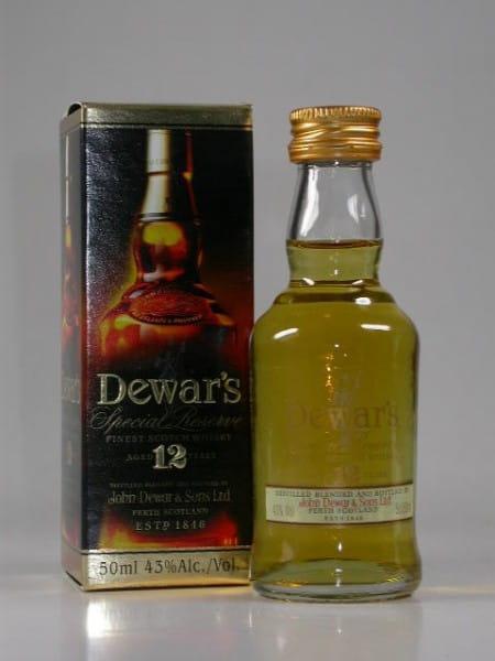 Dewar's 12 Jahre Special Reserve 43%vol. 0,05l