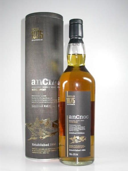 An Cnoc 1975/2005 Spanish & American Oak 50%vol. 0,7l
