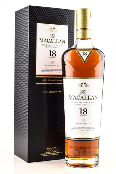 Macallan 18 Jahre Sherry Oak Cask 43%vol. 0,7l