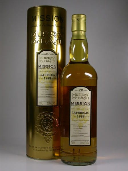 Laphroaig 1988/2008 Murray McDavid Gold Series 52%vol. 0,7l