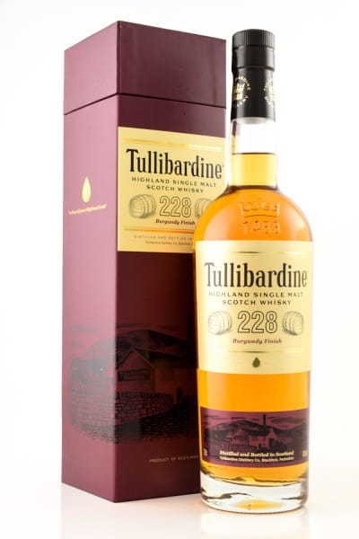 Tullibardine 228 Burgundy Finish 43%vol. 0,7l