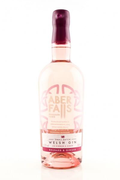 Aber Falls Welsh Rhubarb & Ginger Gin 41,3%vol. 0,7l