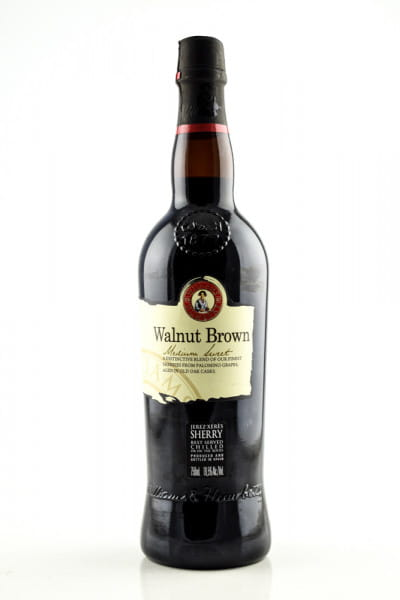 Walnut Brown Medium Sweet Sherry Williams & Humbert 19,5%vol. 0,7l