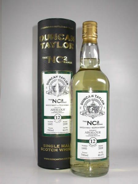 Aberlour 1995/2008 The NC2-Range Duncan Taylor 46%vol. 0,7l